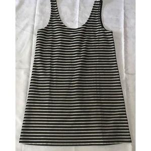 Madewell striped scooped neck dress*Medium*